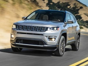 Jeep COMPASS 1.4 Multiair 170 Limited 5dr Auto