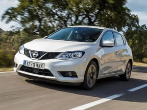 Nissan PULSAR 1.2 DiG-T N-Connecta 5dr Xtronic [Smart Vis/AVM]