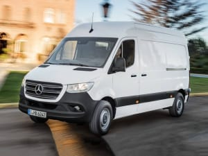 Mercedes Benz SPRINTER 3.5t Super High Roof Van 4x4