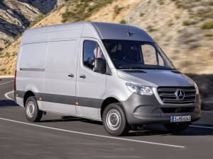 Mercedes Benz SPRINTER 3.5t BlueEFFICIENCY Crew Cab