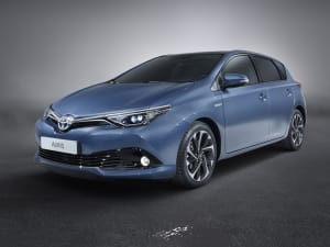 Toyota AURIS 1.8 Hybrid Icon TSS 5dr CVT [Leather]