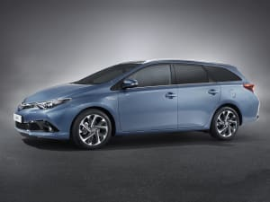 Toyota AURIS 1.2T Icon TSS 5dr CVT [Leather]