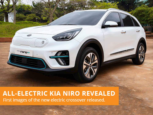 All-Electric Kia Niro Revealed