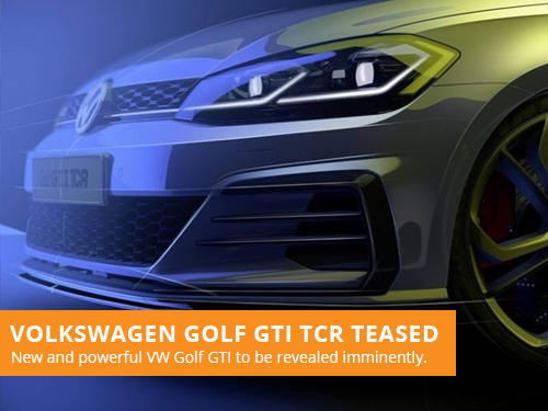 VW Golf GTI TCR Teaser