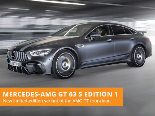 Mercedes-AMG GT 63 S Edition 1