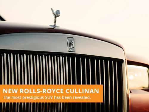 New Rolls-Royce Cullinan