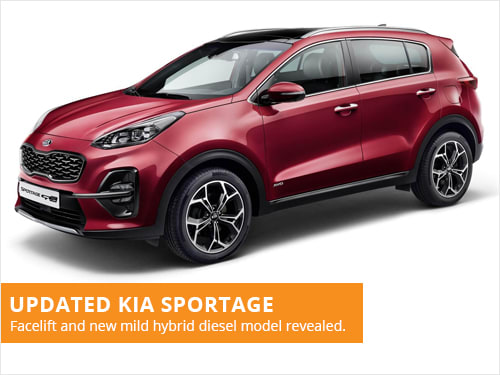 Updated Kia Sportage