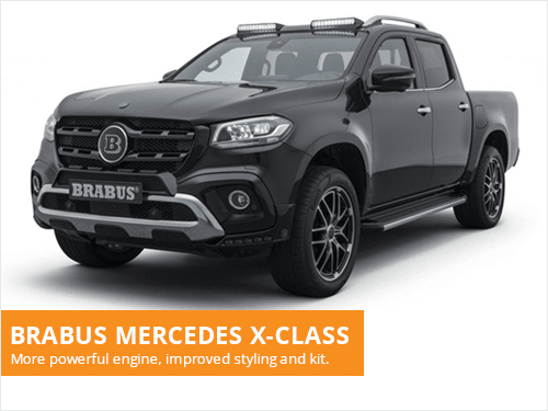 Brabus Mercedes X Class Fulton Vehicle Leasing