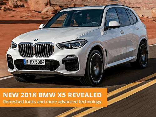 New 2018 BMW X5 Revealed