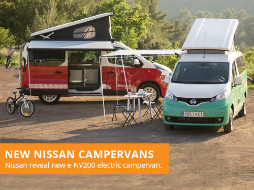 New Nissan Campervans