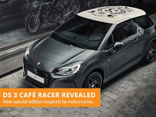 DS3 Café Racer Revealed