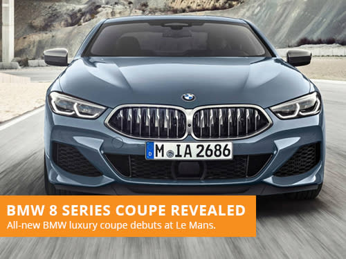 BMW 8 Series Coupe Revealed