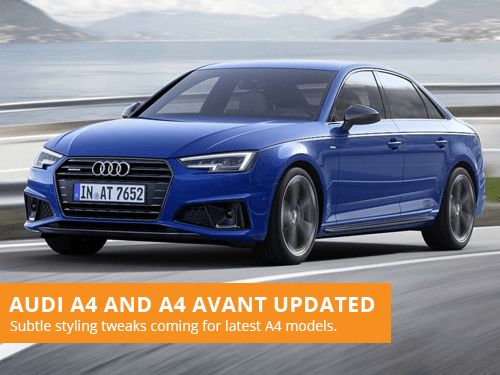 Audi A4 and A4 Avant Updated