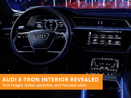 Audi E-Tron Interior Revealed