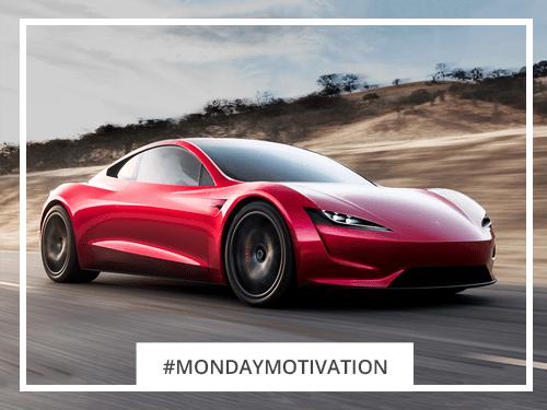 Monday Motivation: 2020 Tesla Roadster
