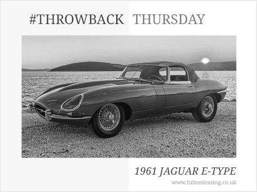 Throwback Thursday: 1961 Jaguar E-Type