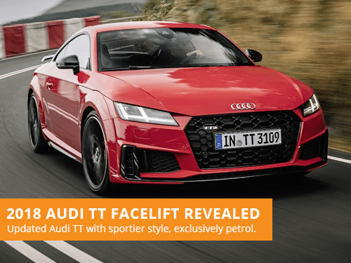 2018 Audi TT Facelift Revealed