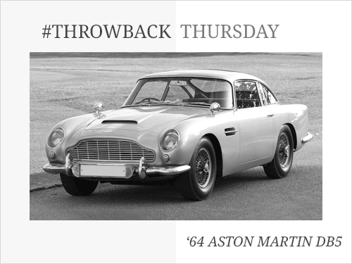 Throwback Thursday: 1964 Aston Martin DB5