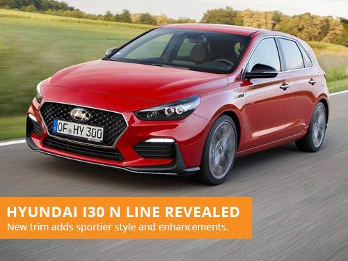 Hyundai i30 N Line Revealed