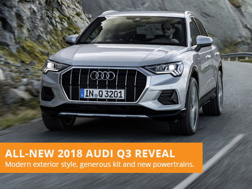 All-New 2018 Audi Q3 Reveal