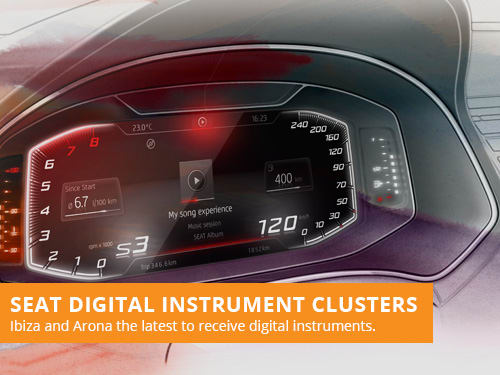 SEAT Digital Instrument Clusters
