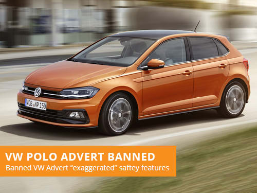 VW Polo Advert Banned