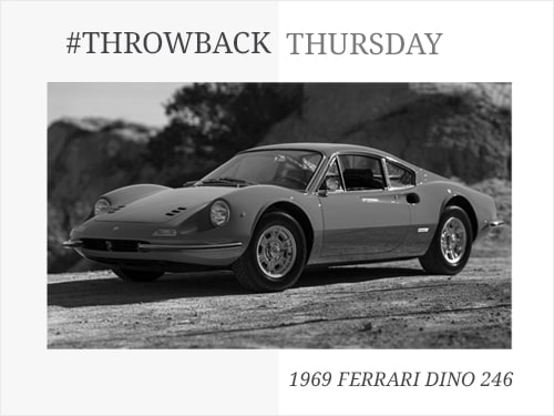 Throwback Thursday: 1969 Ferrari Dino 246