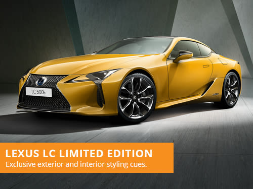 Lexus LC Yellow Limited Edition