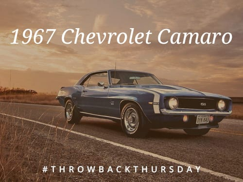 Throwback Thursday: 1967 Chevrolet Camaro
