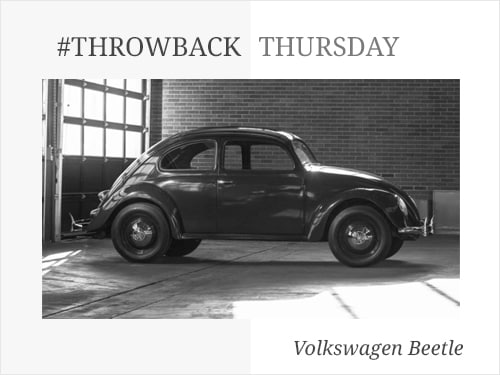 Throwback Thursday: Volkswagen Beetle