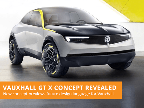 Vauxhall GT X Concept Revealed