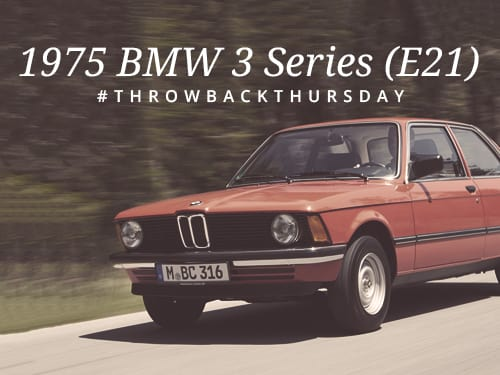 Throwback Thursday: 1975 BMW 3 Series