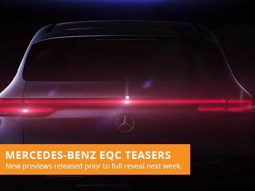 Mercedes-Benz EQC Teasers