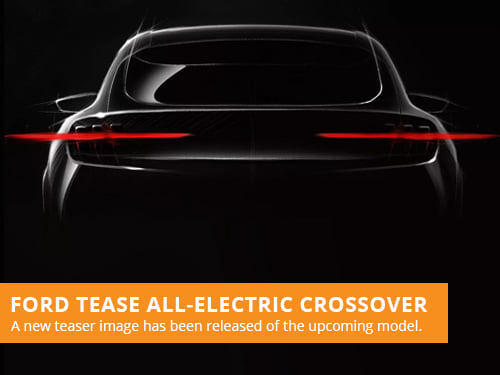 Ford Tease All-Electric Crossover