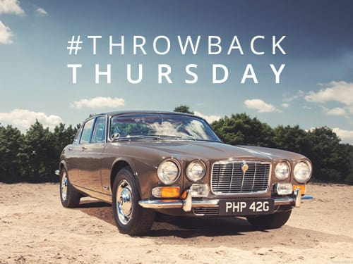 Throwback Thursday: The Jaguar XJ