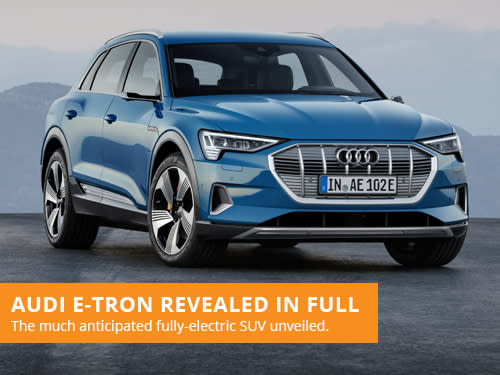 Audi e-Tron Revealed In Full
