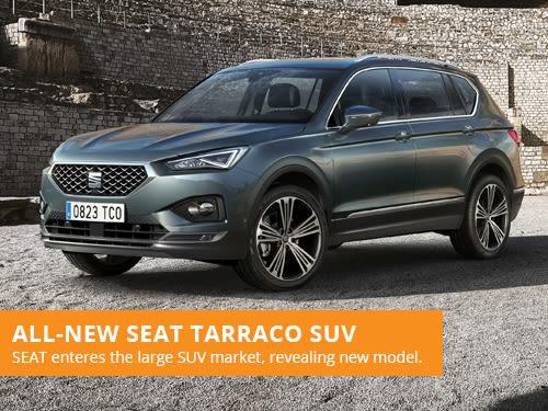 All-New SEAT Tarraco SUV