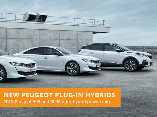 New Peugeot Plug-In Hybrids