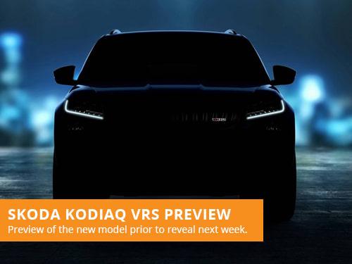 Skoda Kodiaq vRS Preview