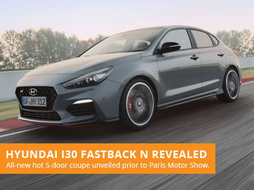 Hyundai i30 Fastback N Revealed