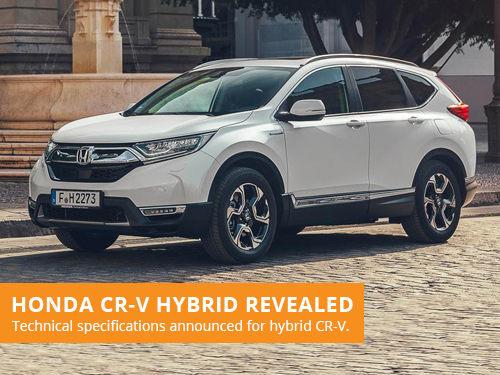 Honda CR-V Hybrid Revealed