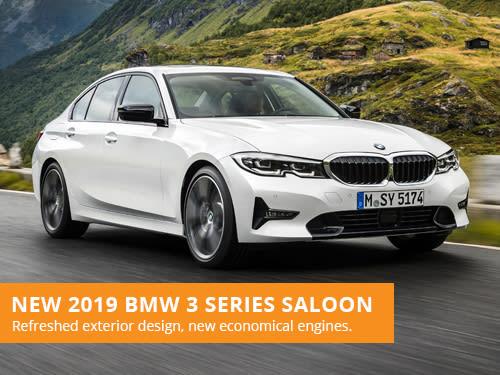 New 2019 BMW 3 Series Saloon