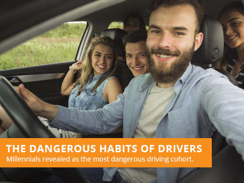 The Dangerous Habits Of Millennial Drivers