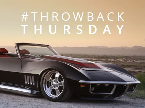 Throwback Thursday: 1969 Chevrolet Corvette