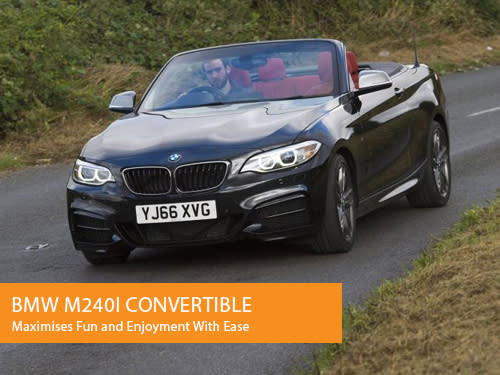 BMW M240i Convertible