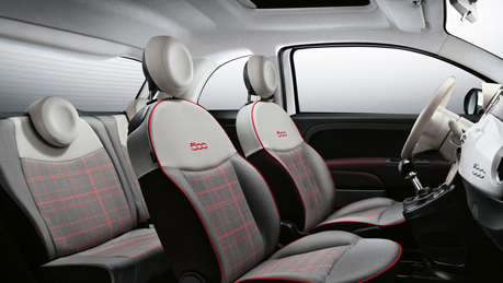 Comfortable and customisable interior