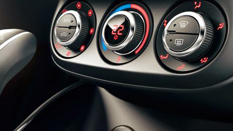 Manual or auto climate control
