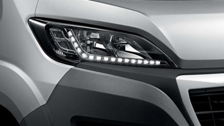 Modern headlight profile