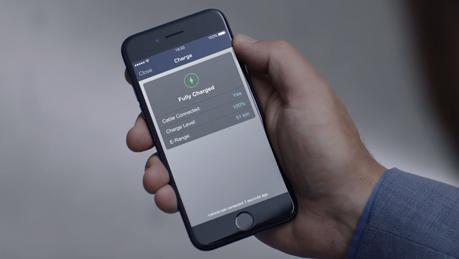 Monitor charging status