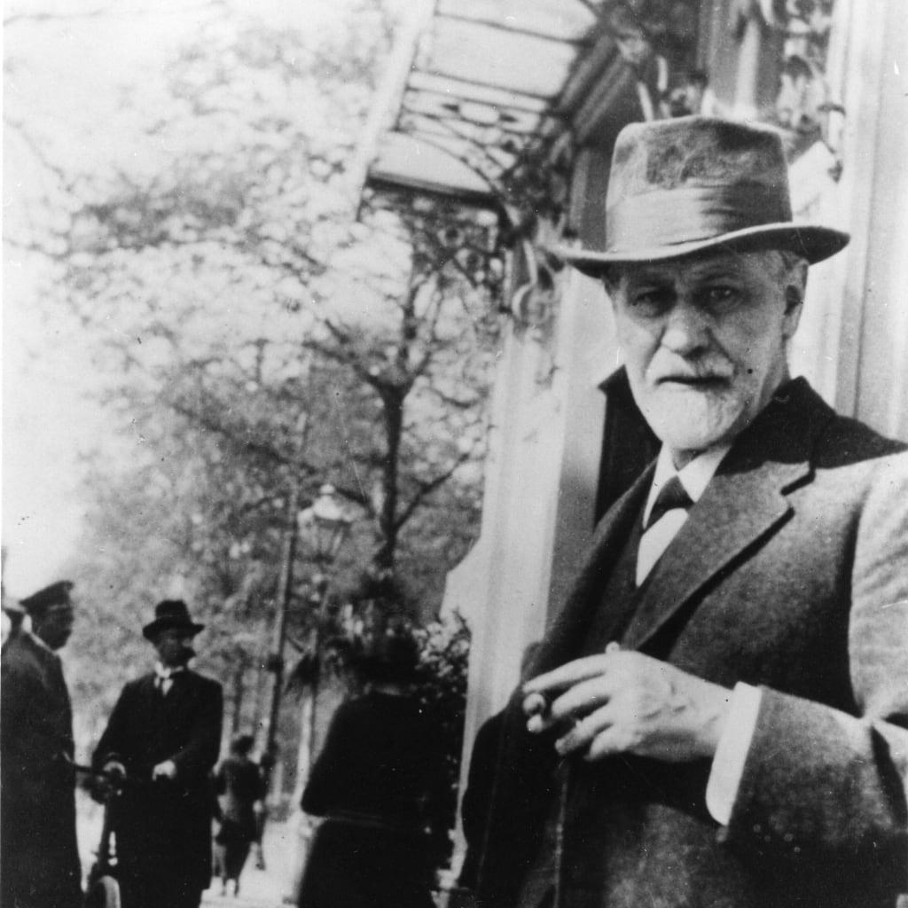 Sigmund Freud, 1920 zio di Edward Bernays